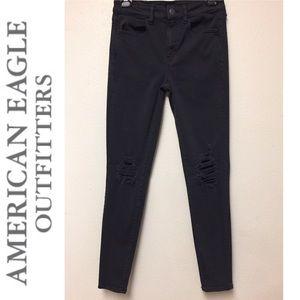 Ae NE(X)T level stretch ripped Jeans